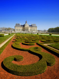 Parc Du Chateau De Vaux-Le-Vicomte Photographic Print by Tony Burns