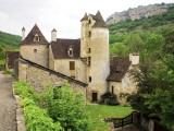 Quercy Village Architecture Fotografie-Druck von Barbara Van Zanten