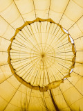Inside of an Inflating Hot-Air Balloon Photographic Print by Tim Barker