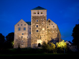 Turku Castle at Night Photographic Print by Manfred Gottschalk