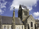 Church at Ste Mere Eglise, One of the First Towns Liberated During the D-Day Landings Fotodruck von Barbara Van Zanten