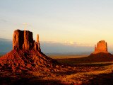 Monument Valley in Late Afternoon Fotografie-Druck von Douglas Steakley