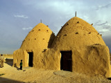 Conical Mud-Brick Beehive Houses, Central Syria Photographic Print by Patrick Horton