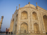 Low Angle View of Taj Mahal at Dawn Photographic Print by Andrew Bain