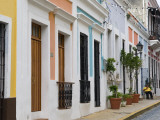 Colourful Houses in Old San Juan Photographic Print by Rachel Lewis