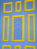 Blue Door Detail Photographic Print by Richard Cummins