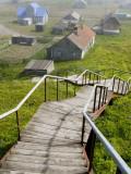 Nikol'skoye Village on Bering Island, Commander Islands, Russian Far Eas Photographic Print by Philip Game