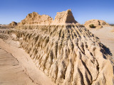 Walls of China' Sand Formations Photographic Print by Rachel Lewis
