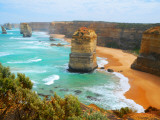 The Twelve Apostles Stone Formations Reproduction photographique par Sabrina Dalbesio