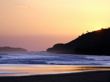 Sunset at Northern End of Beach at Playa Guascate (Popoyo) Near Las Salinas De Nagualapa Photographic Print by Paul Kennedy
