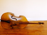 3/4 Size Double Bass Photographic Print by Oliver Strewe