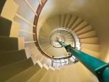 Spiral Staircase in Vizhinjam Lighthouse Photographic Print by Tim Makins
