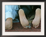 Men Pray Framed Photographic Print