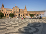 Plaza D'Espana Photographic Print by Karl Blackwell