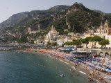 Amalfi Beach Photographic Print by Karl Blackwell