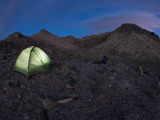 Glowing Tent at Dusk Photographic Print by Tyler Roemer