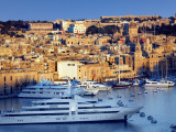 Harbour at Vittoriosa Photographic Print by Jean-pierre Lescourret