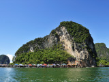 Island at Phang Nga Bay Photographic Print by Wilbowo Rusli