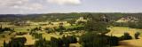 Dordogne Valley with Chateau of Marqueyssac in the Middle Distance Fotografie-Druck von Barbara Van Zanten