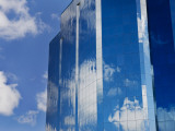 Clouds Reflected in Office Building Photographic Print by Thomas Winz