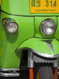 Tuk Tuk Taxi Detail Photographic Print by Richard Cummins
