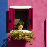 Colorful Walls and Window Photographic Print by Dennis Walton