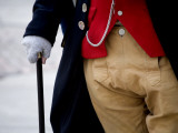 Detail of Freedom Trail Tour Guide's Colonial Dress Photographic Print by Brian Cruickshank