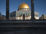 Mosque of Dome of the Rock Photographic Print by Aldo Pavan