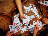 Chinese Card Game Photographic Print by Krzysztof Dydynski