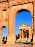 Roman Temples from 2nd Century Fotografie-Druck von Ariadne Van Zandbergen