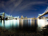 Manhattan Skyline from Brooklyn Photographic Print by Tyler Roemer