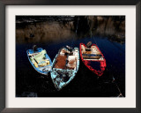 An Oil Spill Caused by Israeli Bombardment Framed Photographic Print