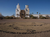 San Xavier Del Bac Mission Photographic Print by Mark Newman