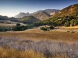 Malibu Creek State Park, from Mulholland Highway in Santa Monica Mountains Near Malibu Fotografie-Druck von Witold Skrypczak