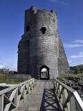 Gatehouse Remains of Norman Castle Photographic Print by Neil Setchfield
