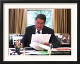 President Ronald Reagan Framed Photographic Print