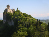 Rocca Cesta Castle Built on Highest Peak of Titan Mountain of Medieval San Marino Photographic Print by Ruth Eastham & Max Paoli