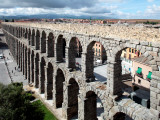 Roman Aqueduct (Aqueduct of Segovia) Photographic Print by Bruce Bi