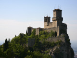 Rocca Guaita Castle known as First and Oldest Tower in Centre of Medieval San Marino, Photographic Print