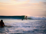 Surfing at Avellanas Beach, Nicoya Peninsula Photographic Print by Aaron McCoy