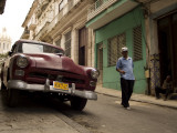 Street in Old Havana Photographic Print by Steven Greaves