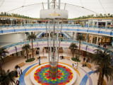 Fountain at Marina Mall Shopping Centre Photographic Print by Richard l&#39;Anson