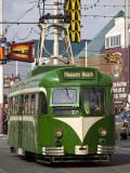 Pleasure Beach Tramcar Photographic Print by Neil Setchfield