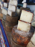 Goat's Cheese on Farmers' Market Stall Near Plaza Nuestra Senora Del Pino Photographic Print by Ruth Eastham & Max Paoli