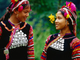 Vietnam's Ethnic Ha Nhi Co Cho (Hanhi) are Distant Cousins of Akha of Thailand, Laos and Myanmar Photographic Print by Stu Smucker