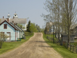 Restored Town to Depict a Typical 19th Century Nova Scotian Village Photographic Print by Stephen Saks