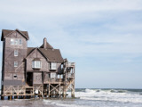 "House Used in the Movie ""Nights in Rodanthe"" Photographic Print by Peter Ptschelinzew"