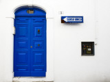 Blue Door in Old Town Photographic Print by Pamela Valente