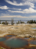 West Thumb Geyser Basin Photographic Print by Shannon Nace