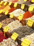 Variety of Teas at Market in Spice Bazaar, or Egyptian Bazaar Photographic Print by Seong Joon Cho